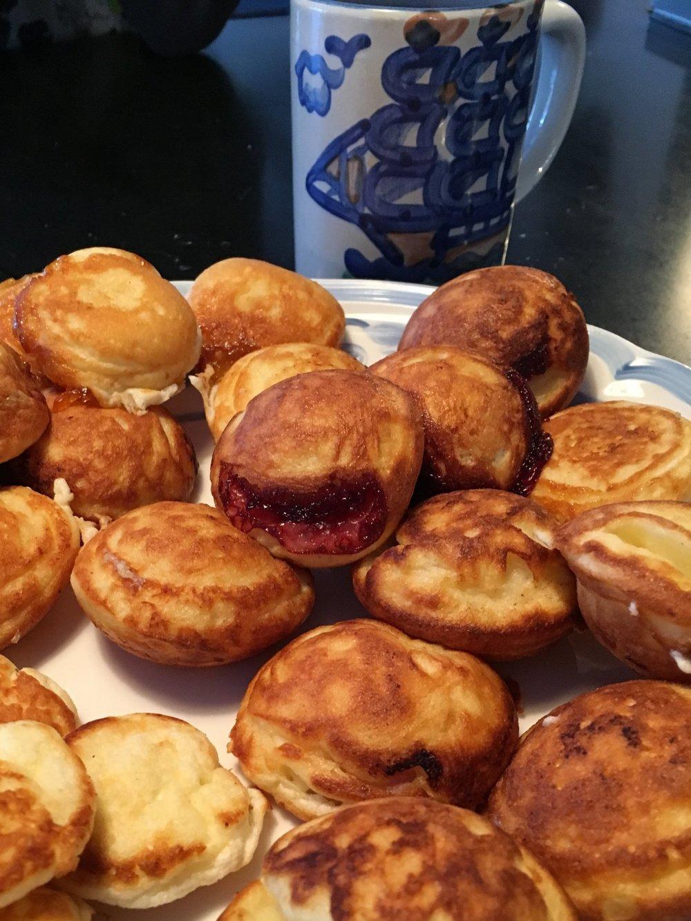 ebelskivers - a danish breakfast treat