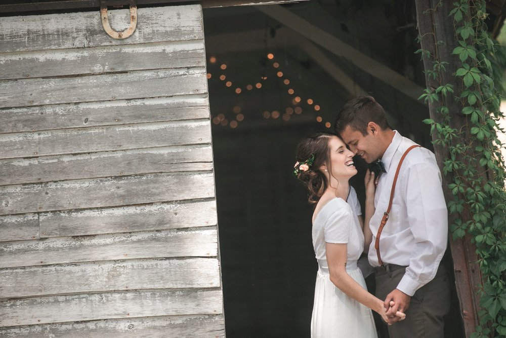 Emma + Kyler - Pepin Hidden Meadow Barn Wedding