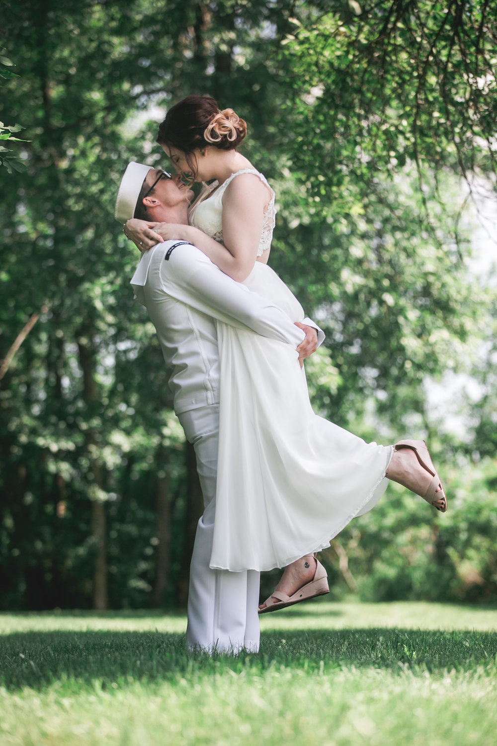 Amber + Dakota - Dramatic and Romantic Outdoor Wedding