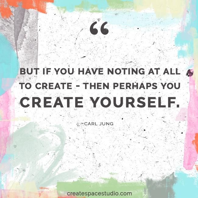 the best creation is your life! createspacestudio.com
