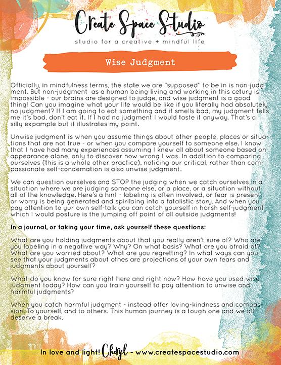 wise judgment practice - www.createspacestudio.com