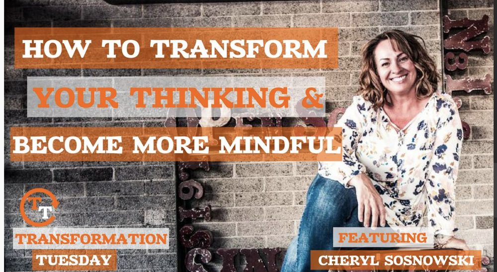 Transformation Tuesday Podcast interview with Cheryl Sosnowski and Carey Pena