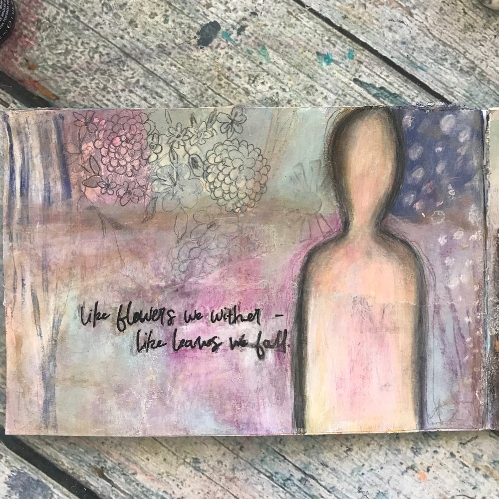 the self that goes on changing...cheryl sosnowski createspacestudio.com
