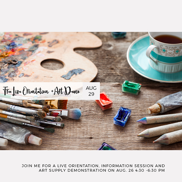 Information session for Be Artful + MIndful class