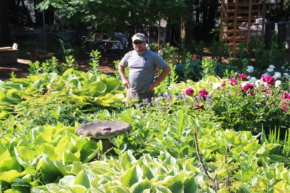 Chubby garden guy!