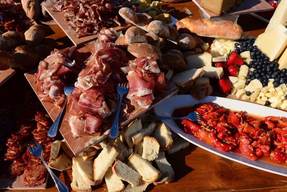 Charcuterie, Artisan Cheese & Organic Vegtables