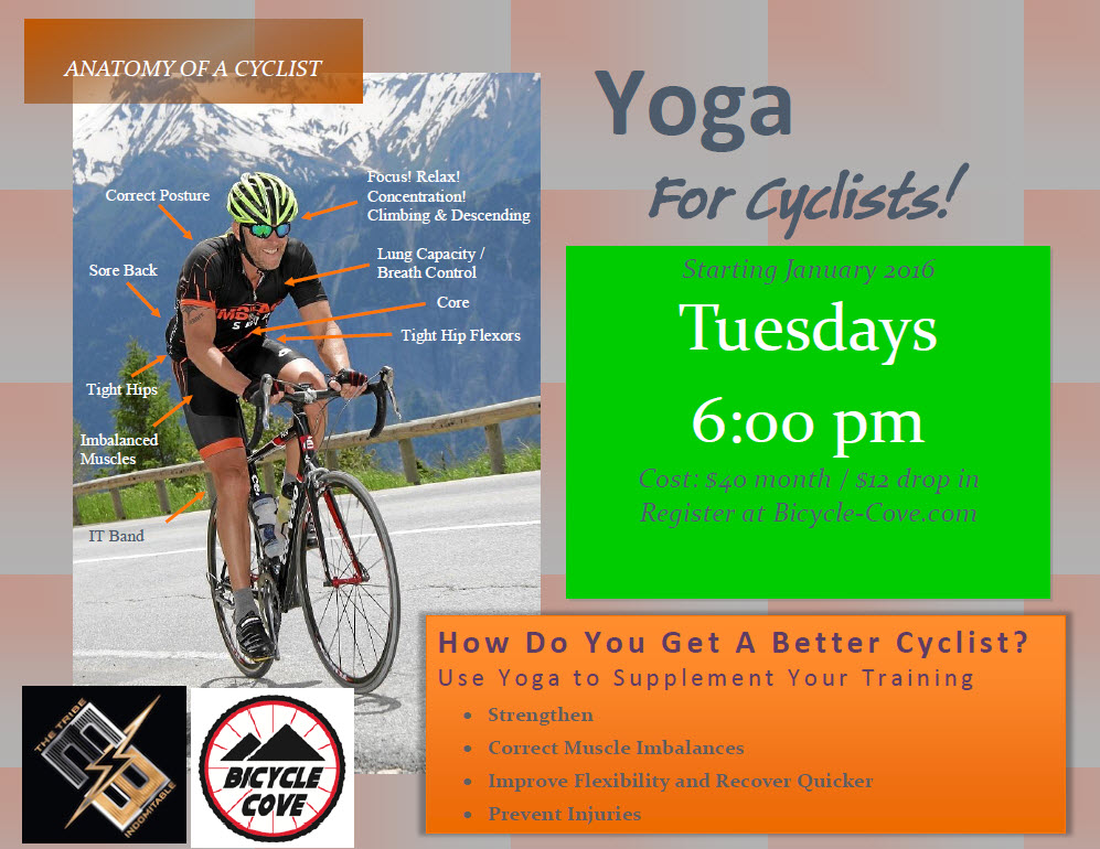 Yoga for Cyclists — Bicycle Cove