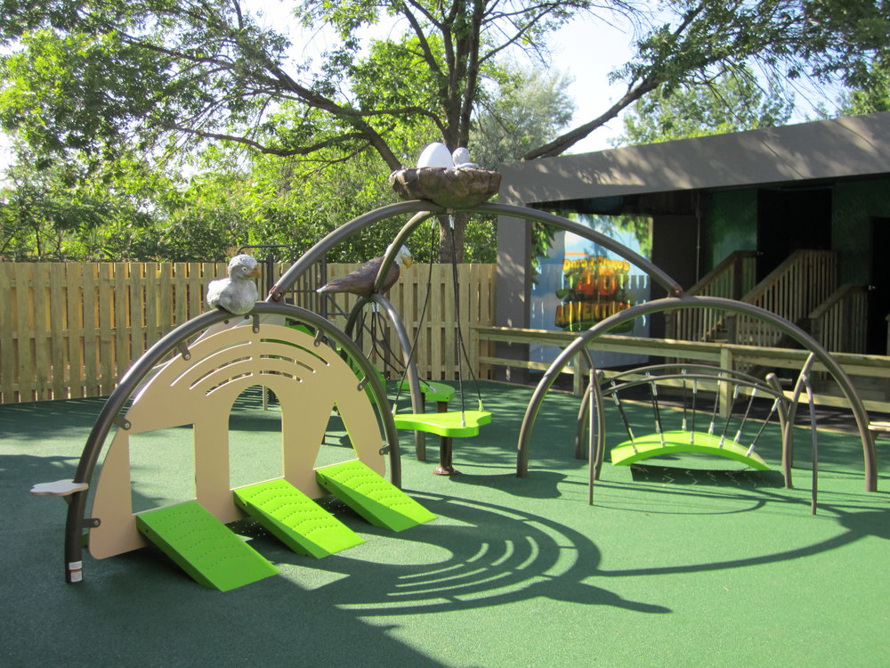 Indianapolis Zoo Playground