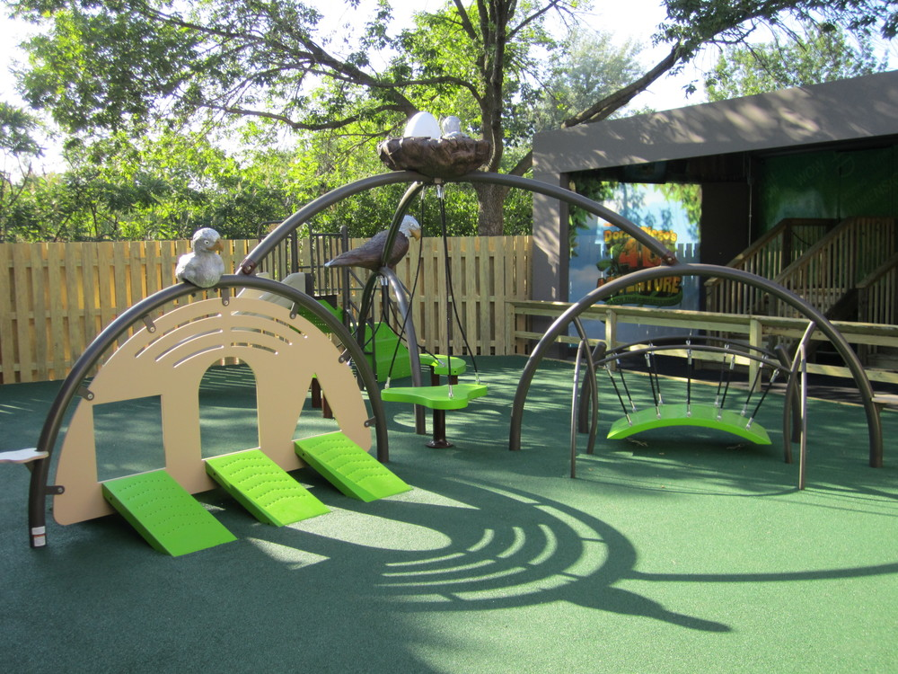 Indianapolis Zoo Playground by Kinetic Recreation
