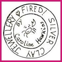 Oundle 07972 254 574 @firedsilverclayjewellery.com