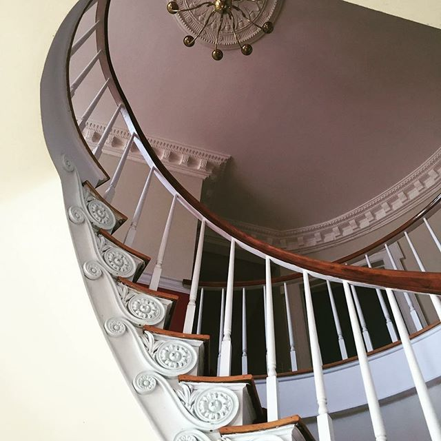 Credit to @hameshall : Spiral staircase? Yes, please! Great photo opportunities on this significant feature inside the mansion. Now booking for 2018 and 2019! • • • #plantationwedding #southerenwedding #weddingvenue #eventvenue #savannahwedding #statesborowedding #claxtonwedding #georgiawedding #weddingphotography #weddingwire #weddingmagazine #weddingday #weddingplanning #weddingday #spiralstaircase #hameshall