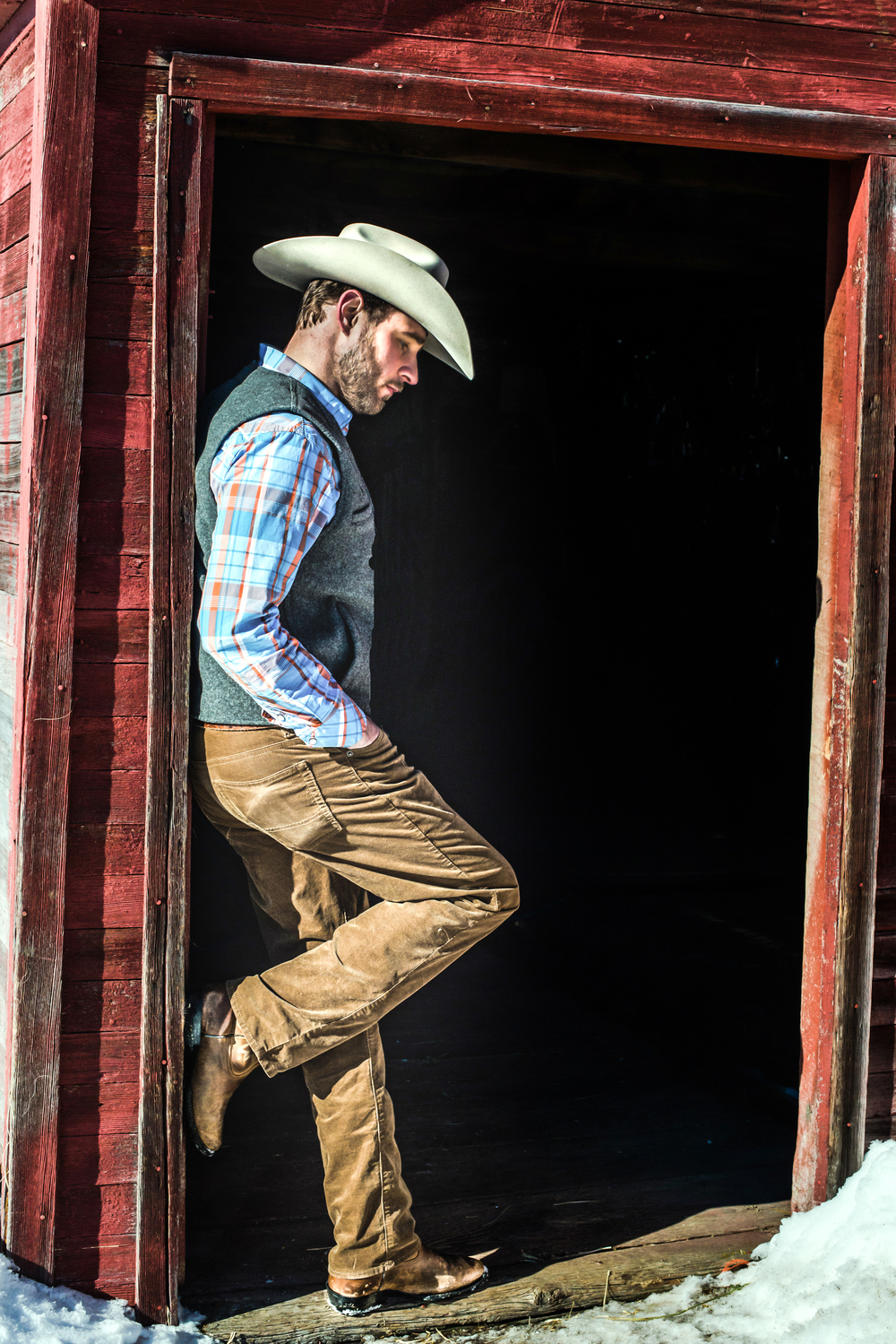 """The Cowboys and Ranchers that make a go at a life out here represent the values I admire most: hard work, integrity, and character."" Josh Myers ~"