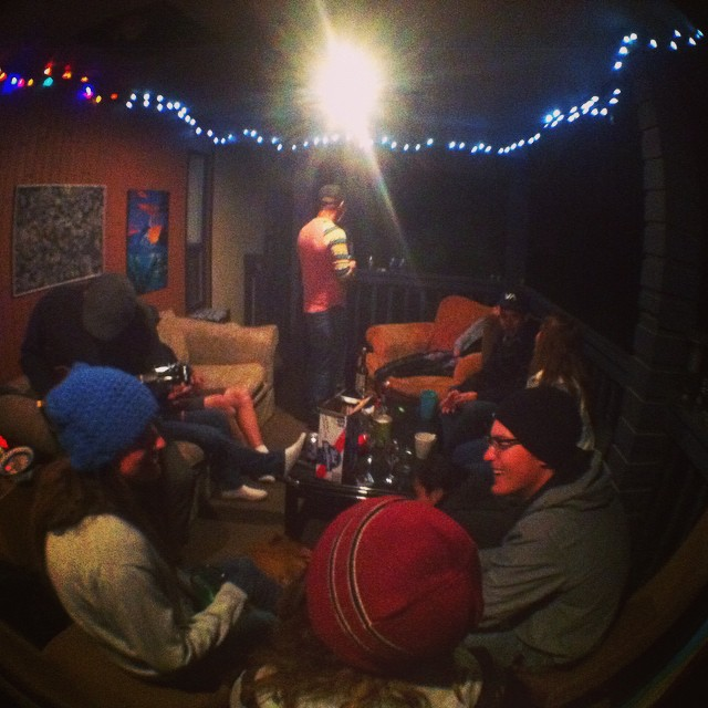 Back Porch Glam. #fisheye #theseguys (at High House)