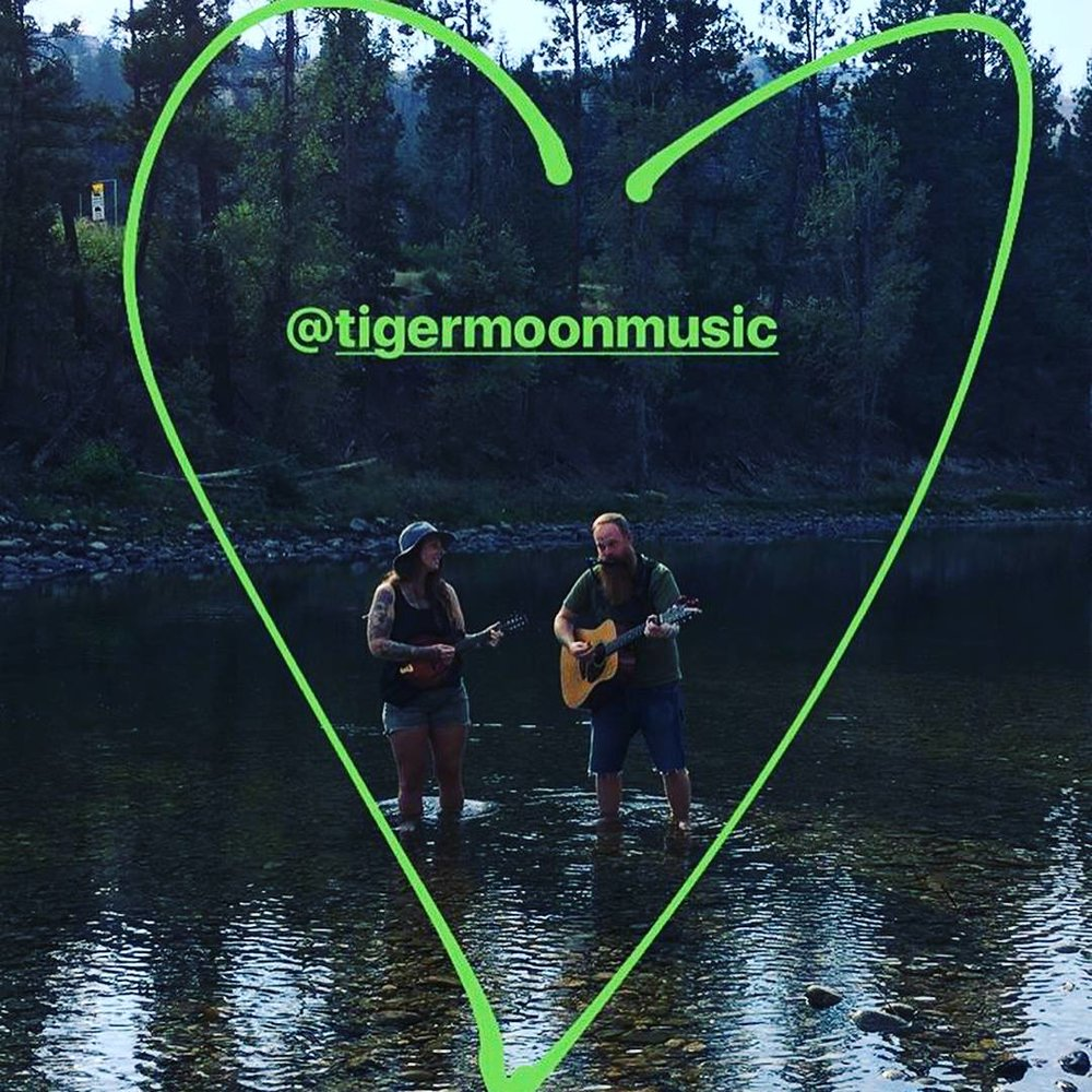 We had a great video shoot with  SOFAR Sounds Vancouver  at Ponderosa Festival. Here we are standing in the beautiful Kettle River.