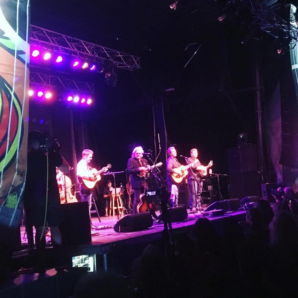 The legendary Ricky Skaggs and Kentucky Thunder on the  Salmon Arm Roots & Blues Main Stage.
