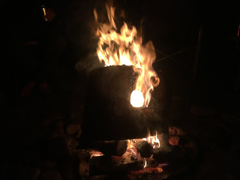 A bonfire at SpringRush farms helped to top up our souls, and allowed us to get so know some of our fans in Southern Ontario quite well.