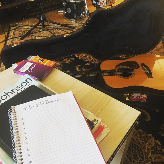 Fresh strings, fresh setlist, fresh polish on ol' Ethel the Takamine. We cannot wait to share with you tonight @thedreamcafepenticton - we've been looking forward to this show for a long, long time. Make sure you grab your tickets now! We just may have a full house on our hands tonight! . . #folkmusic #livemusic #penticton #musicians #westcanadianfolk #caribooandwhiskey #tigermoon #setlist #thedreamcafe #maintenance @takamineusa @elixir_strings