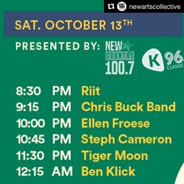 Didja know we have another show!? One more showcase to play on @breakoutwest 's last day... . . Can't wait to come home to @newartscollective to play tonight with our pal @ben_klick... Maybe an appearance on the drums from @dylanranneyart too 😉. . . #Repost @newartscollective with @get_repost ・・・ Tonight, a brand new lineup! @riitmusic @chrisbuckband @lead @steph_cameron_ @tigermoonmusic  and @ben_klick 🙌 see you there! @breakoutwest •••••••••••••••••••••••••••••••• #art #studio #music #musician #musiciansofinstagram #thenac #newartscollective #lineup #breakoutwest #bow2018 #song #sing #singer #songwriters #show #concert #performance #artcollective #artstudio #artistsoninstagram #folk #folkmusic #breakoutwest