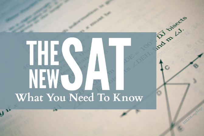 New SAT Scores - How do they stack up?
