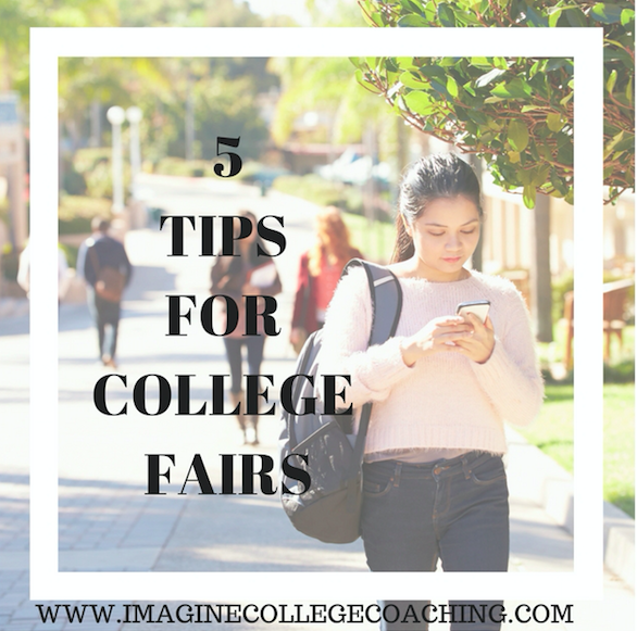 5 Tips for College Fairs