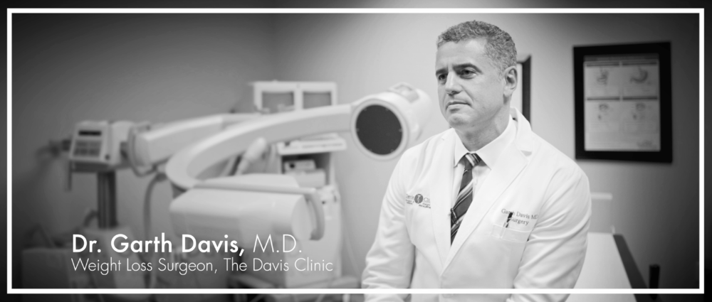 Dr. Garth Davis  is a leader in the field of bariatric medicine. Dr. Davis has been recognized as a Texas Monthly Super Doc and stars with his father, Dr. Robert Davis, on the hit docu-reality medical series,  Big Medicine . His recently published bestseller  Proteinaholic: How Our Obsession with Meat Is Killing Us  is available in bookstores nationwide.