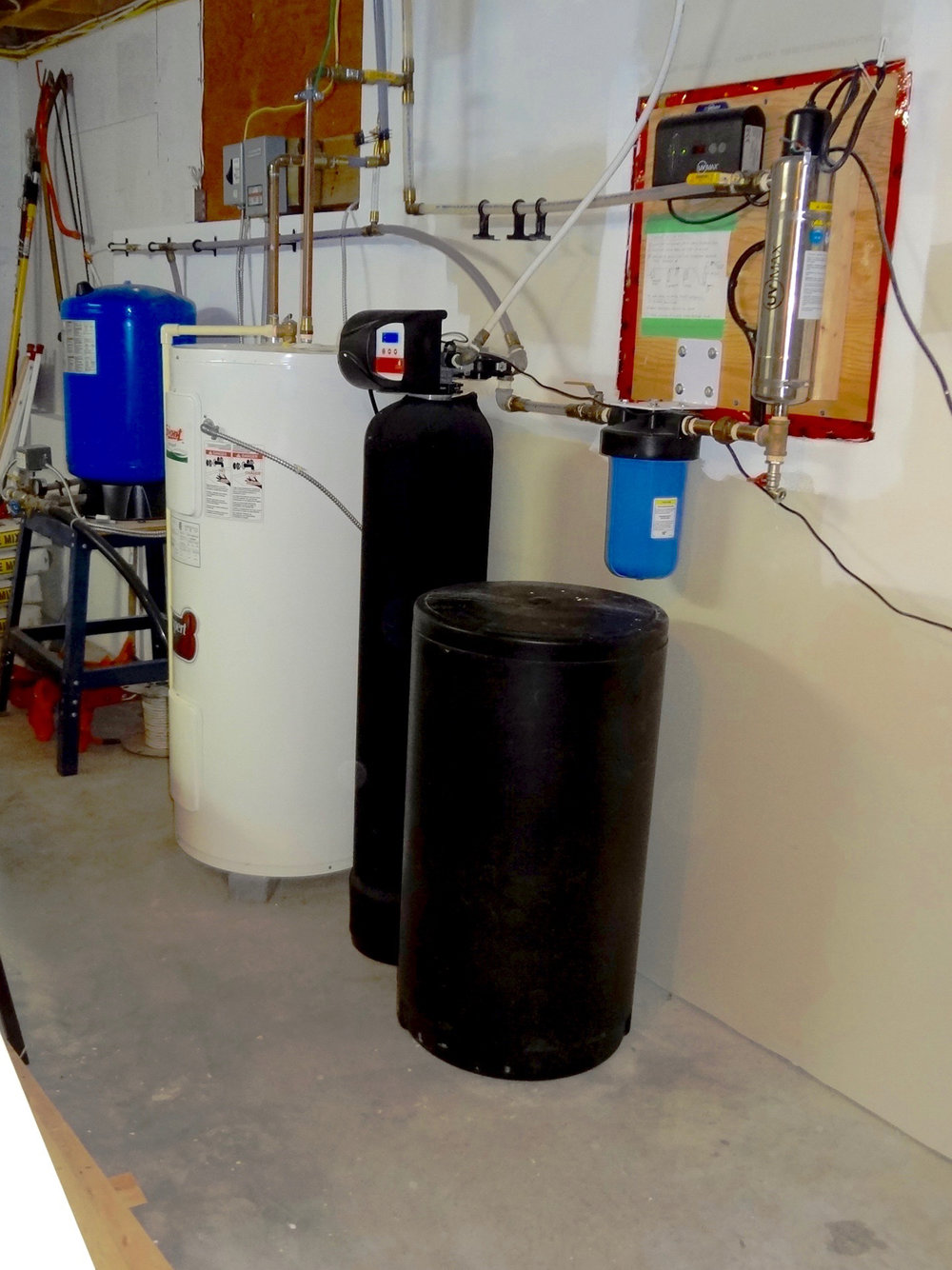 UV Water Filtration, Water Softener & Water Heater