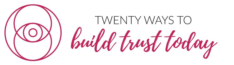 ways to improve trust in a relationship