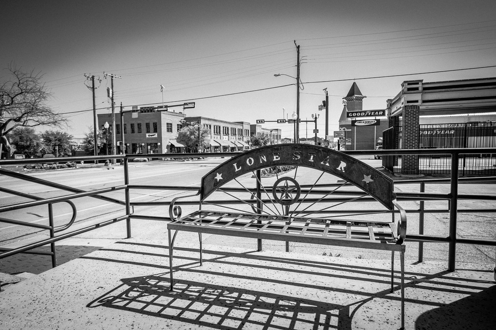 Bench downtown