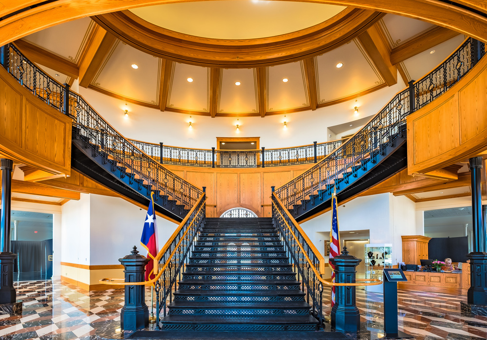 Staircase at Grapevine Convention and Visitors Bureau