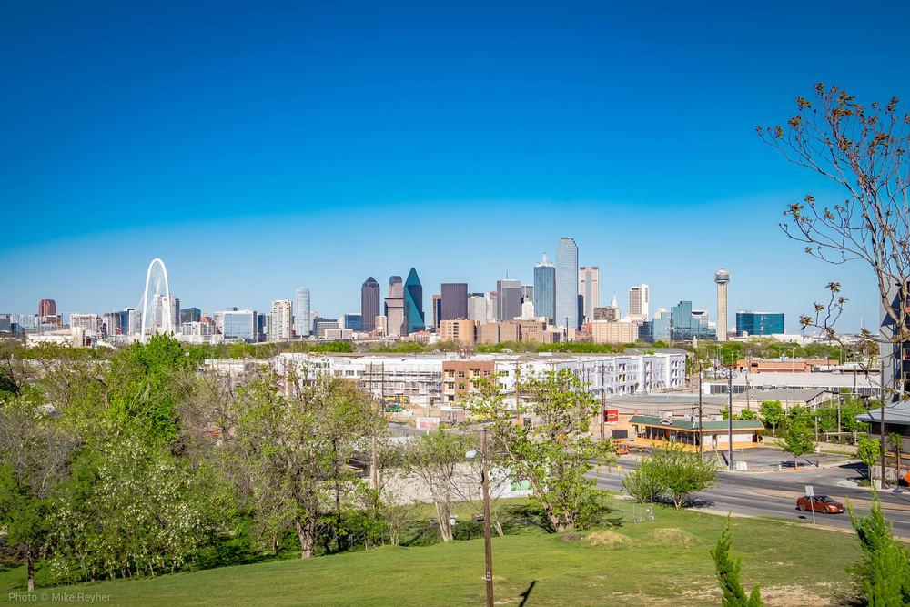 View from the Belmont Hotel in Oak Cliff