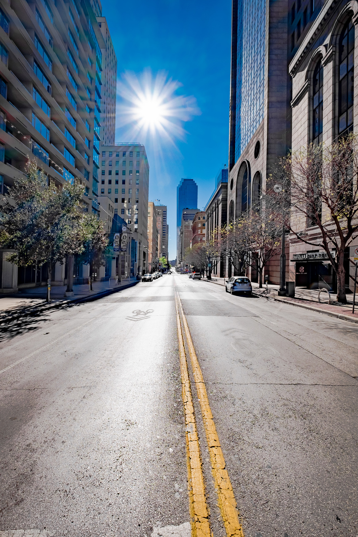 Looking West on Main Street in Dallas