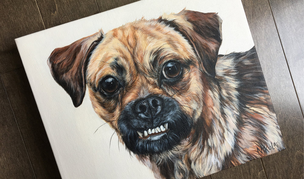 Chubbs (Pug/Jack Russell Mix)
