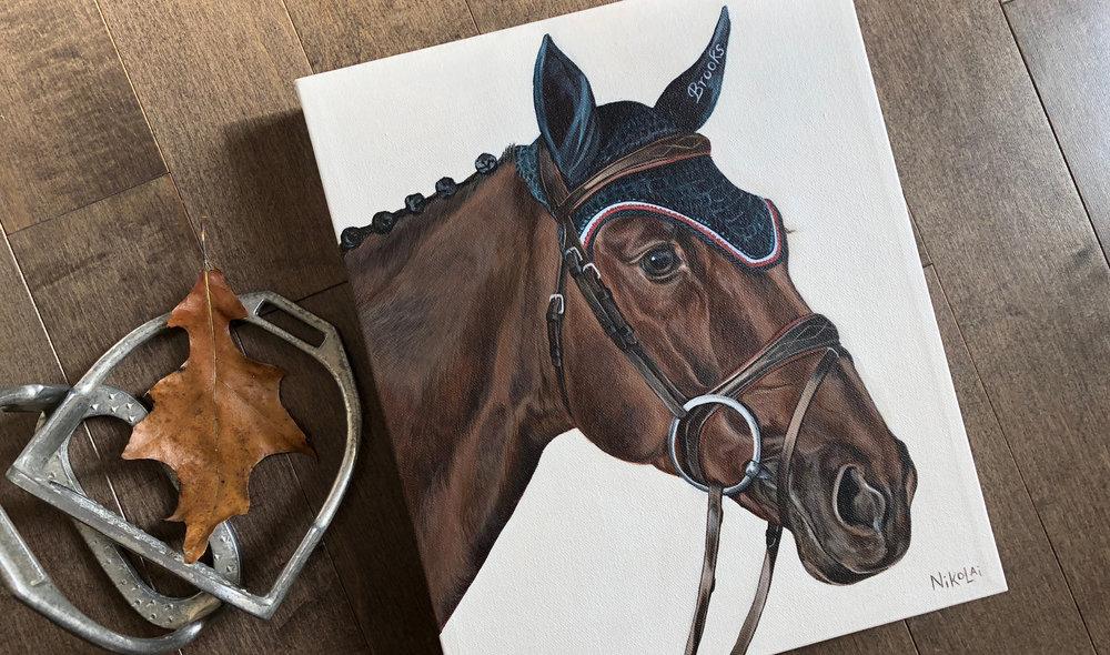 Fernet VM – Grand Prix horse