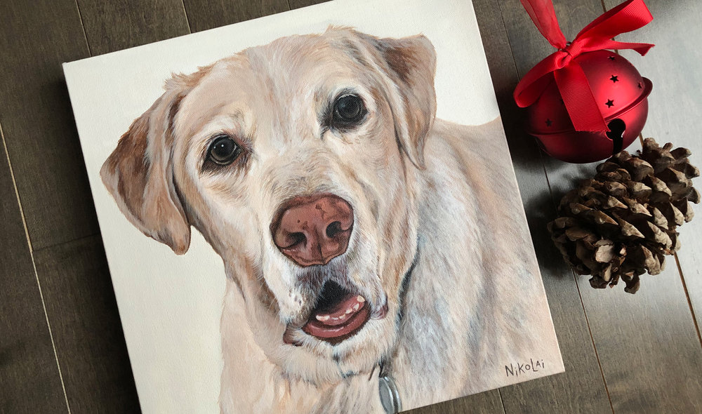 Briggs (Yellow Labrador Retriever)
