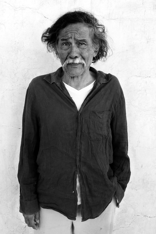 Francisco Toledo, artist. November 28, 2012