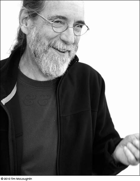 Ian MacLeod. Painter. Taken on October 20, 2010.