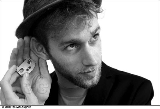 Jaron Freeman-Fox. Musician. Taken July 13, 2011