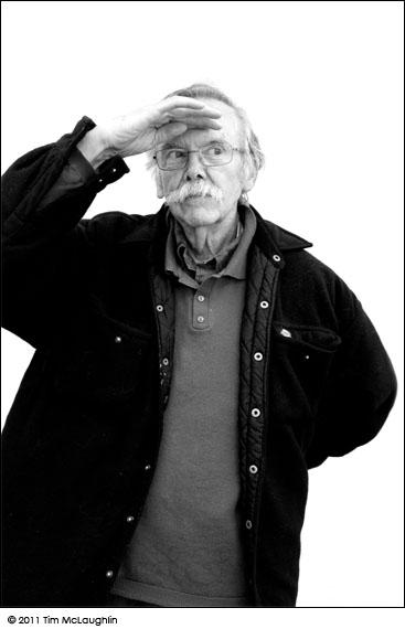 Lawrence (Kris) Kristmanson. Artist. Taken August 8, 2011