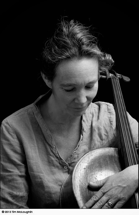 Ruth Phillips, cellist, writer. Taken March 18, 2013.