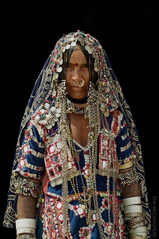 Neelavva, Banjara woman. Karnataka, November 2013.