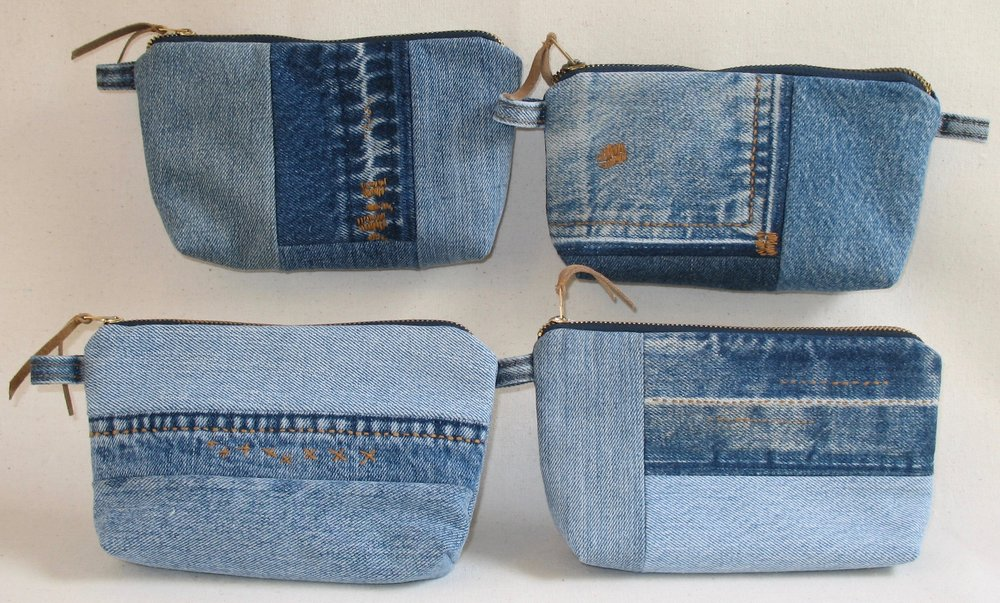 "233a14e5220 ... of your usual carrying bag. They epitomize the concept of ""zero waste""  because I am able to use all of my smallest scraps to make them. Fully  lined."