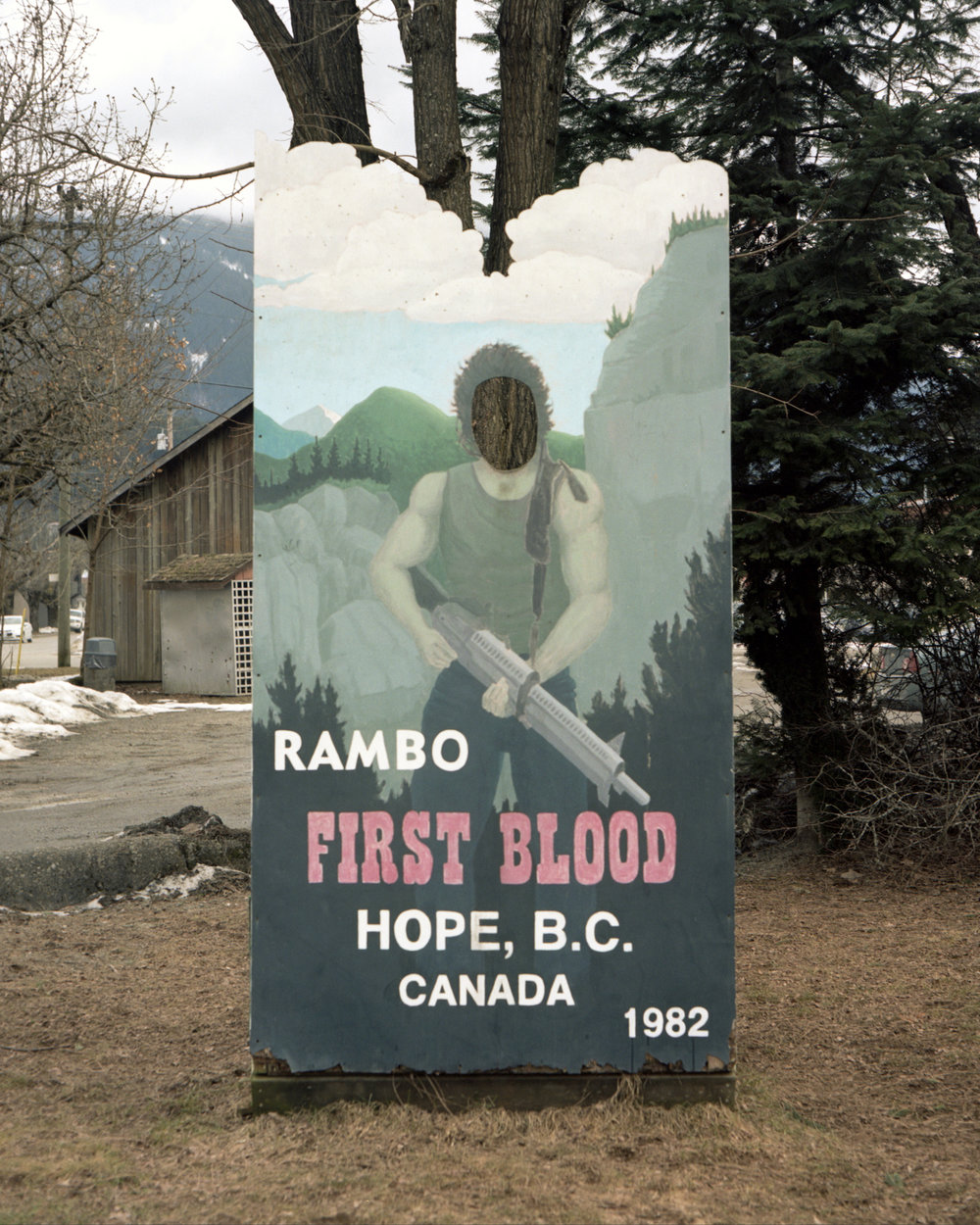 First Blood Photo Cutout