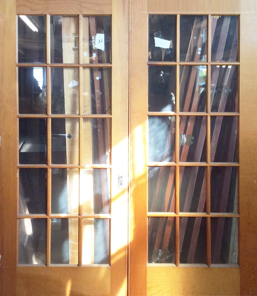 Double French Door Set