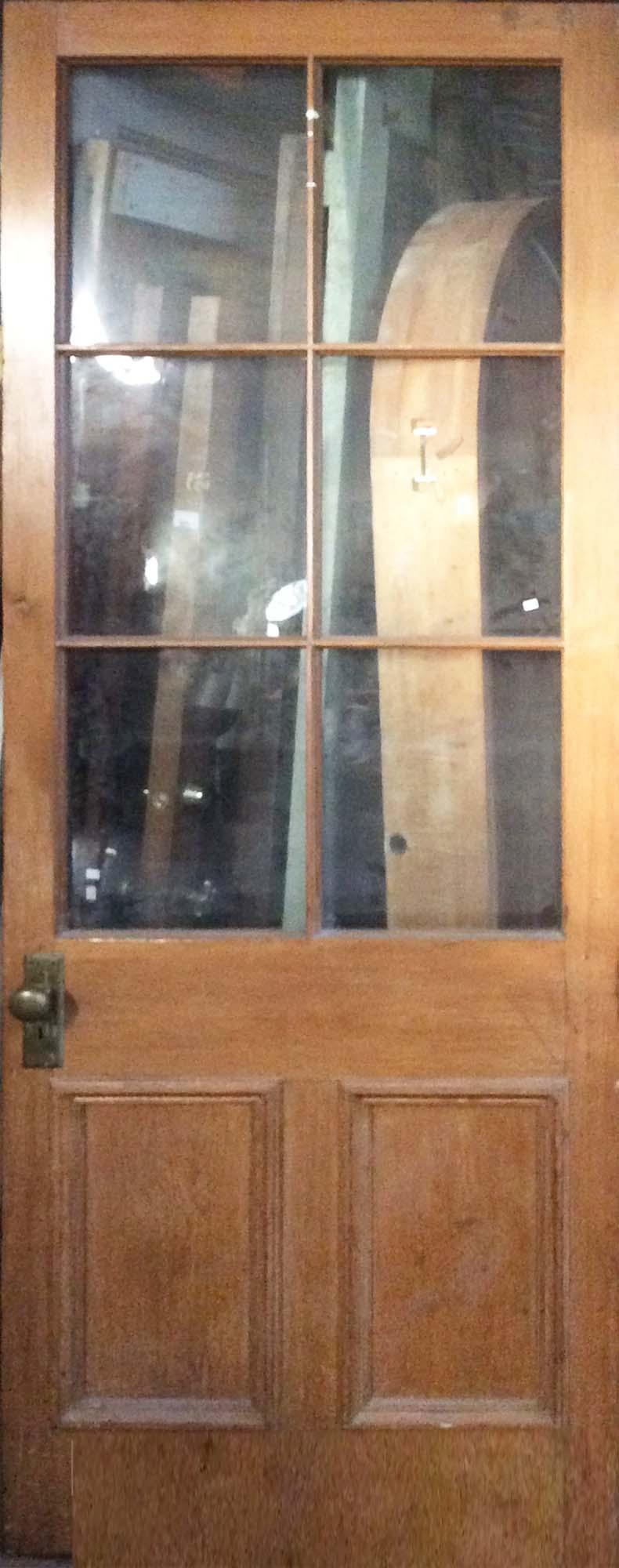 Oversized 6-Panel Entry Door