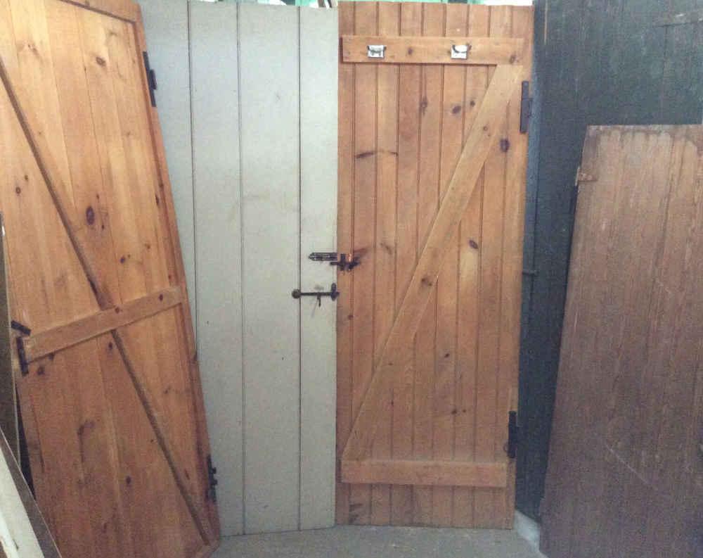 Selection of Beadboard & V Match Camp Doors