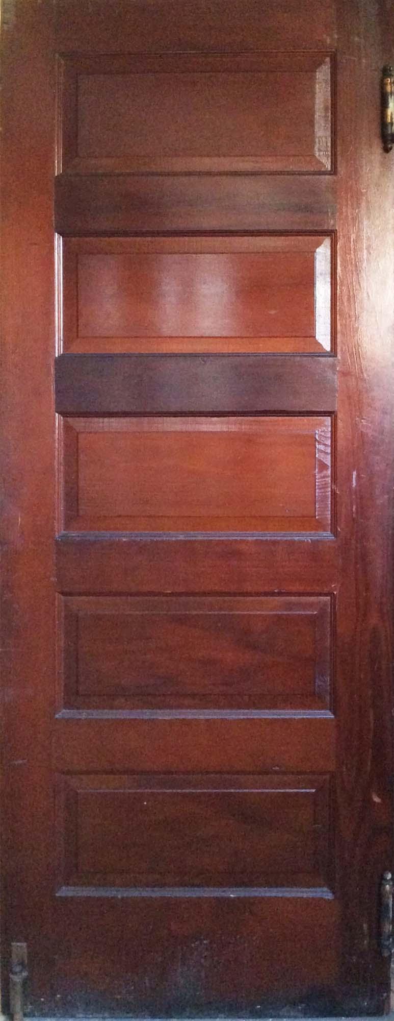Natural 5-Panel Door