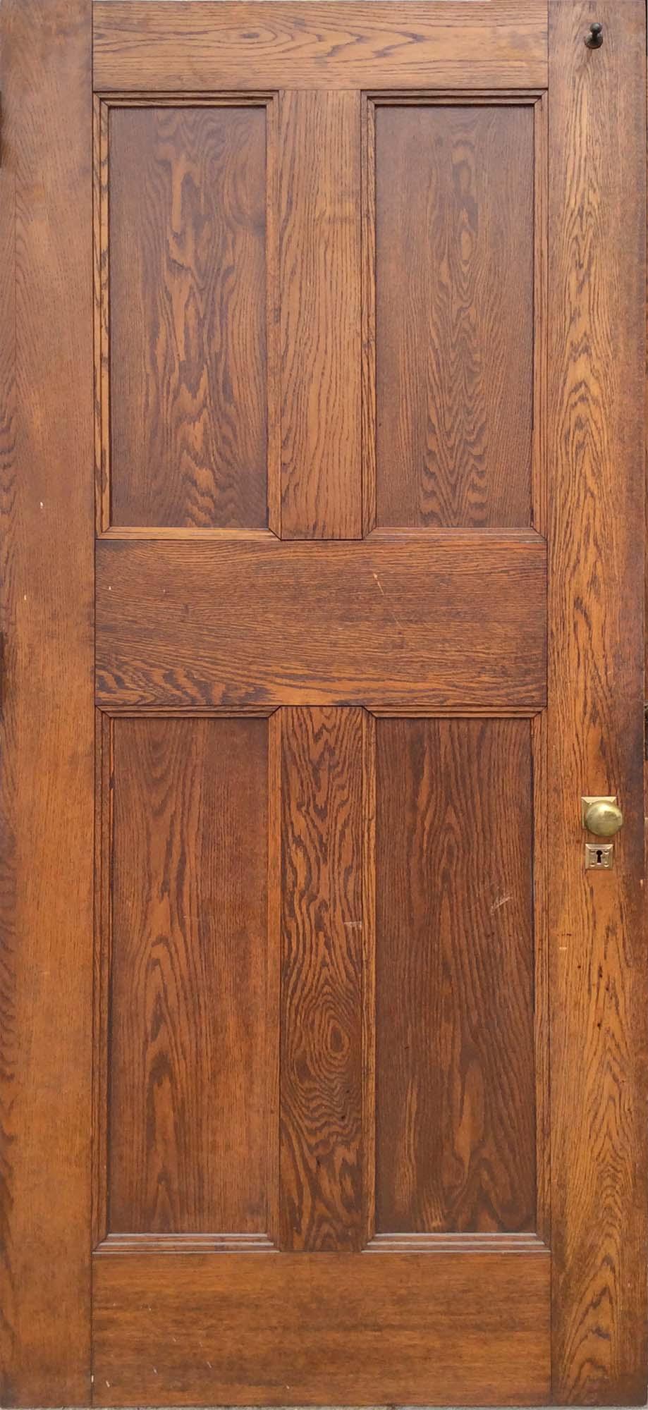 Solid Oak 4 Panel Door