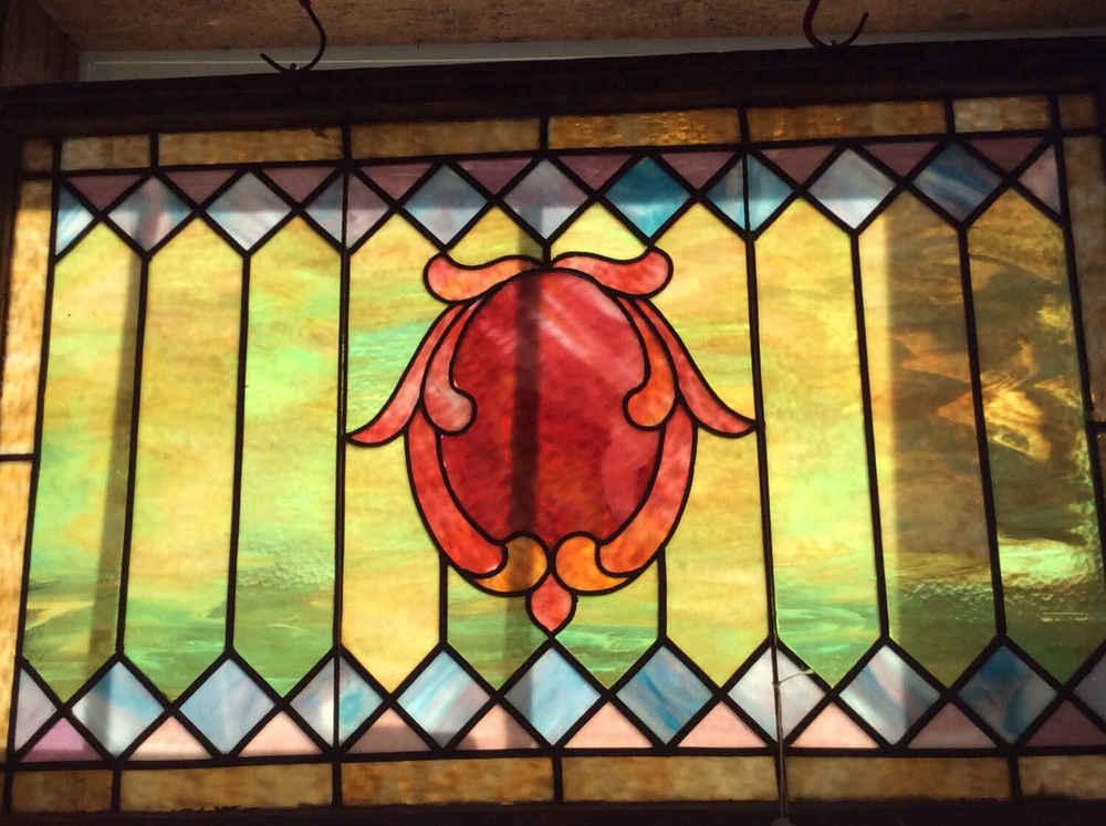 Geometric Victorian Window