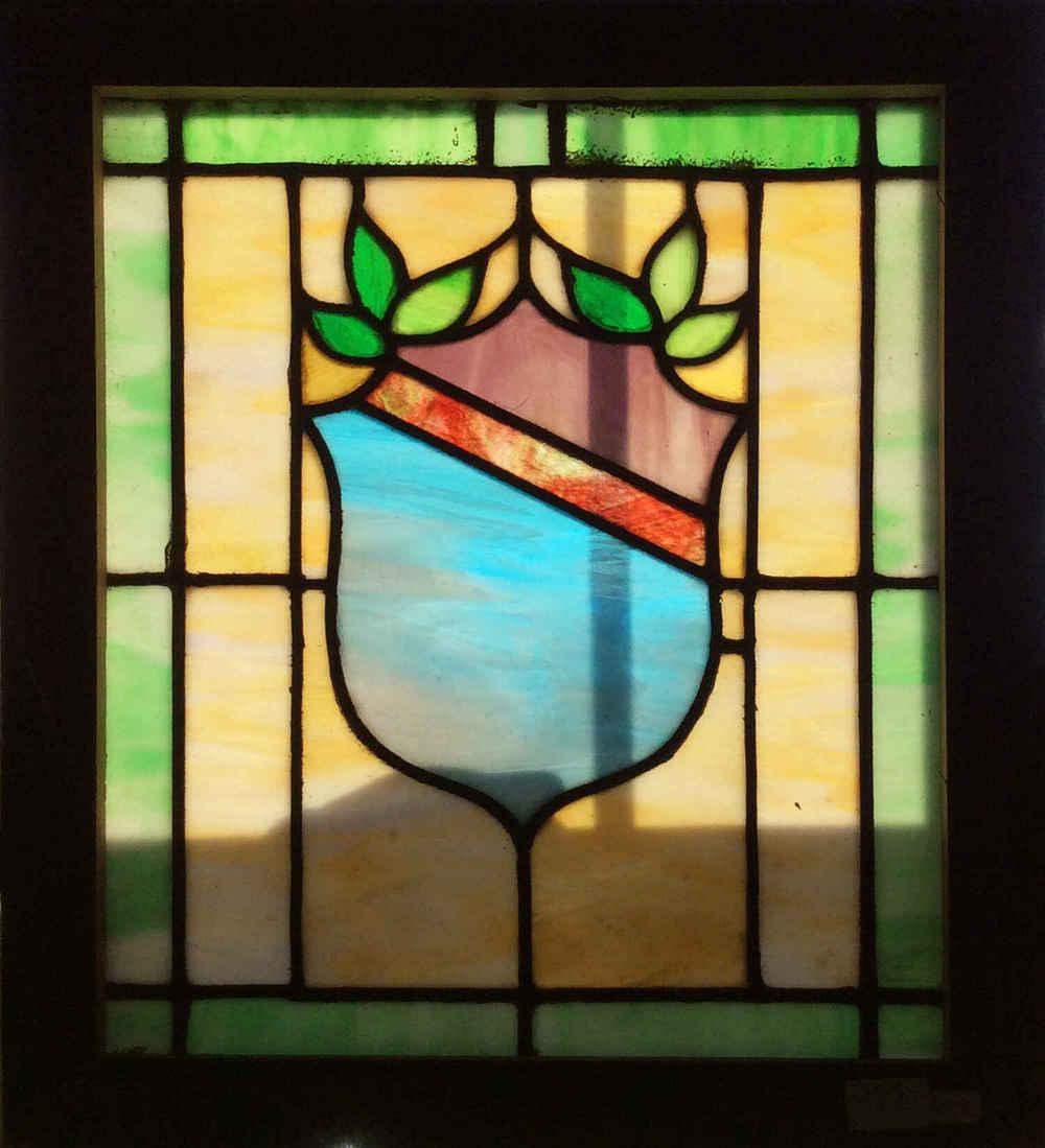 Victorian Shield Window