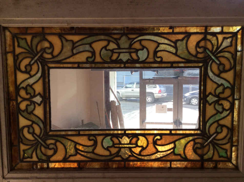 SOLD Victorian Stained Glass Window